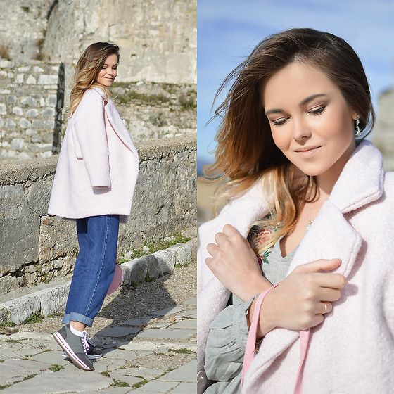 Get this look: http://lb.nu/look/8590831  More looks by Tamara Bellis: http://lb.nu/tamarabellis  Items in this look:  Sammydress Coat, Zaful Jeans, Zaful Blouse   #casual #chic #street