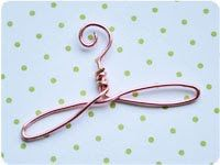 Mini Wire Hanger - Kell Belle Studio original design