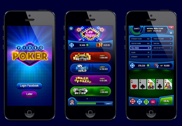 VIDEO POKER on Behance