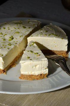 Cheesecake au citron vert sans cuisson - Tangerine Zest