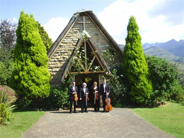 """Vienna String Quartet. Johannesburg. The Vienna String Quartet is a highly acclaimed professional string ensemble since 1990. It has become the premier string quartet for the most prestigious occasions in South Africa and abroad. Their appearances in concerts has been received with standing ovations and they were the quartet of choice for the launch of the book """"Long Walk to Freedom"""" by Nelson Mandela."""
