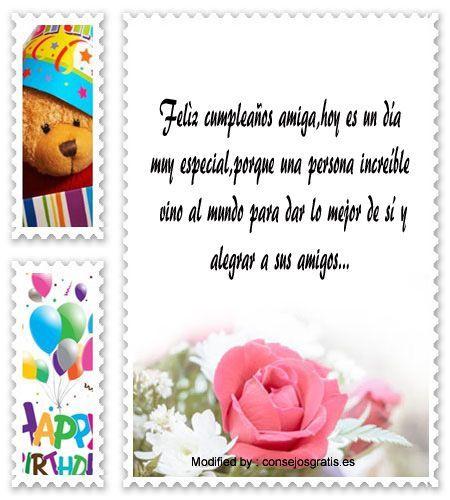 textos de feliz cumpleaños para enviar,textos de cumpleaños para enviar por Whatsapp,postales de cumpleaños para enviar por Whatsapp: http://www.consejosgratis.es/bonitos-mensajes-de-cumpleanos-para-mi-mejor-amiga/