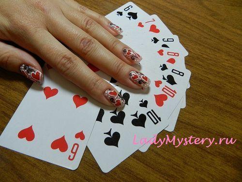 Как нарисовать сердечки ногтях?  По вопросам сотрудничества и мастер-классов: anna1156@yandex.ru  .  Автор: Творческая Анна   Дизайн ногтей, нейл-арт, необычный рисунок, креативный маникюр, нейл-арт, дизайн ногтей, ногти, ноготки, nail art, nails, nail ideas, сердечки на ногтях