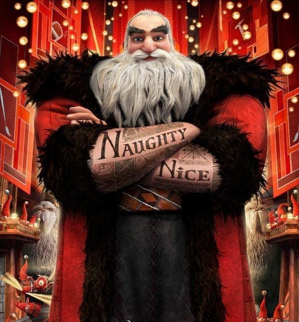 Undertaker Tattoos Santa Clause Ass 97
