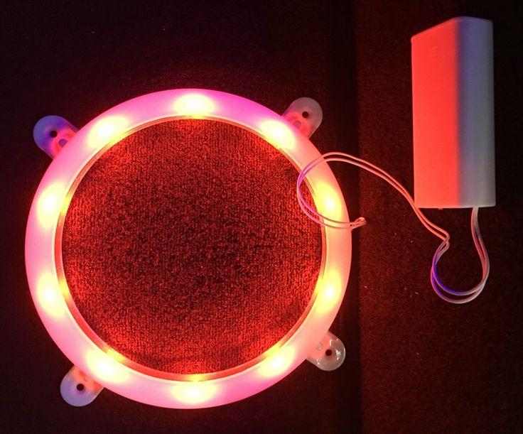 Red Cornhole Lights (2 Pk)