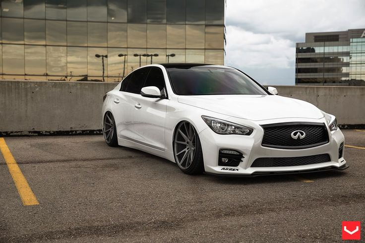 #Infiniti_Q50 On VFS1 By #Vossen_Wheels