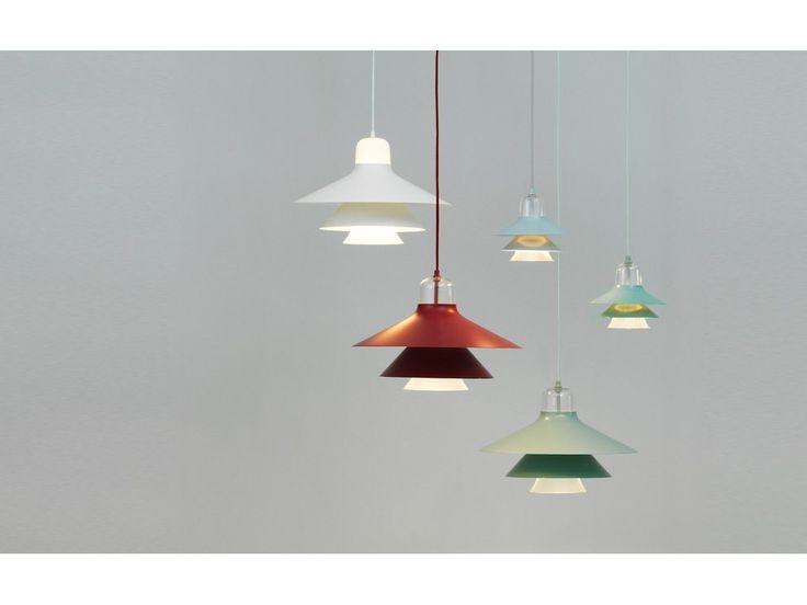 Lampa Wisząca Ikono Duża czerwona — Lampy wiszące Normann Copenhagen — sfmeble.pl