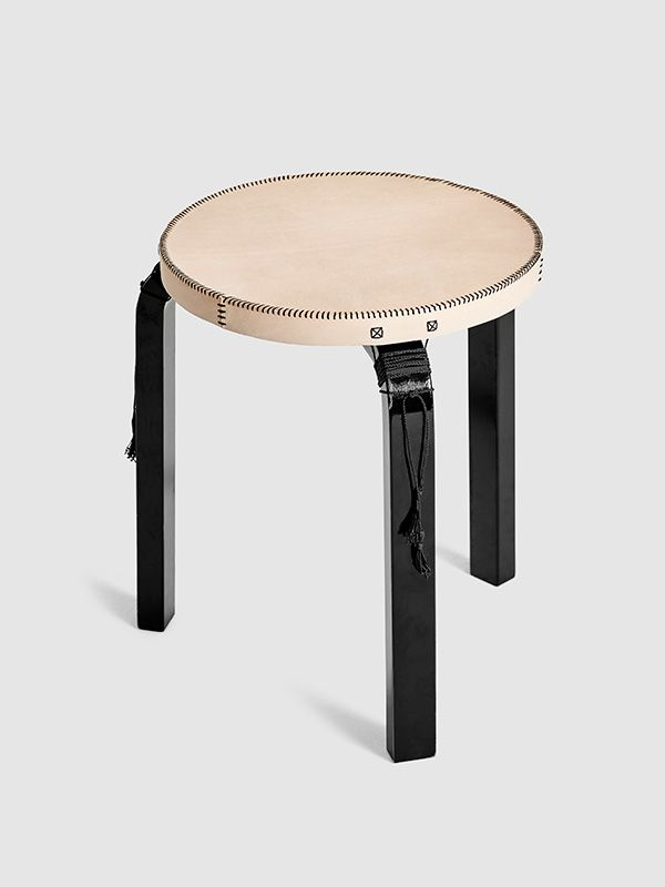 Owen Architecture | Aalto Stool Cover Leather