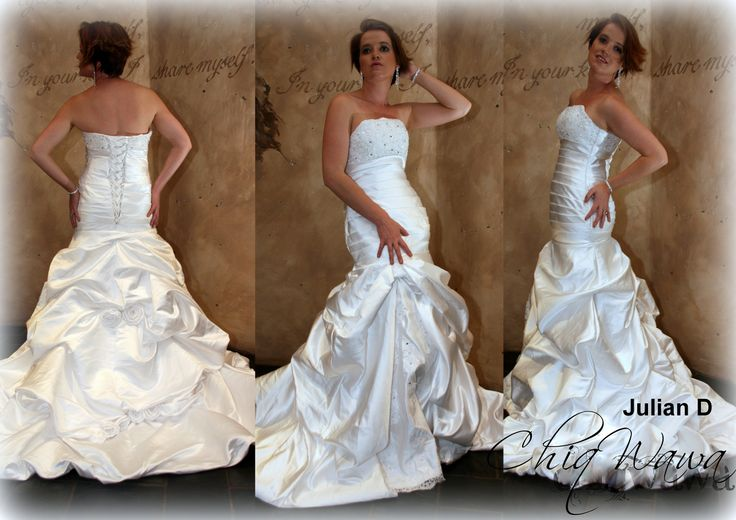 Wedding Dresses | Chiqwawa, South Africa - Dropped Waist Ruched Julian <3