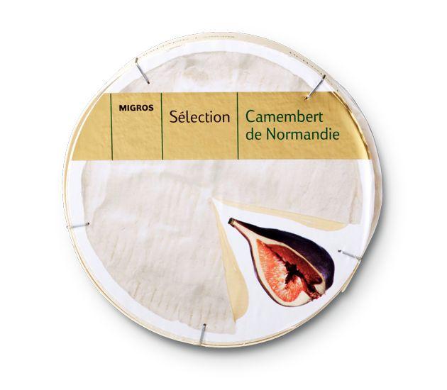Migros Sélection Camembert de Normandie #Packaging #Cheese