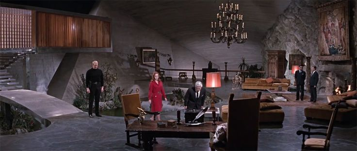 Blofeld S Lair From You Only Live Twice Perhaps One Of