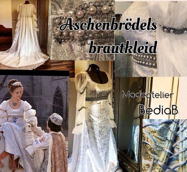 Drei Haselnüsse für Aschenbrödel Brautkleid  Kleid von bediab auf DaWanda.com