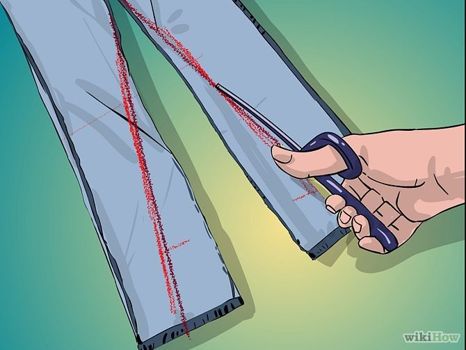 How to Make Skinny Jeans: 8 Steps (with Pictures) - wikiHow