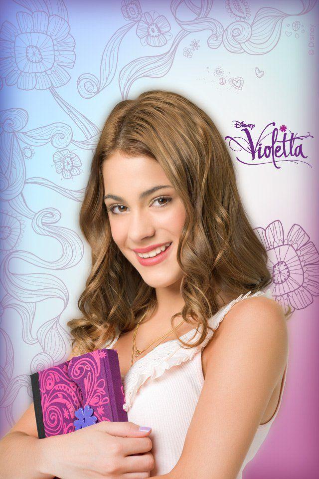 esta foto tambem pode ser encontrada em violetta/disney channel ...