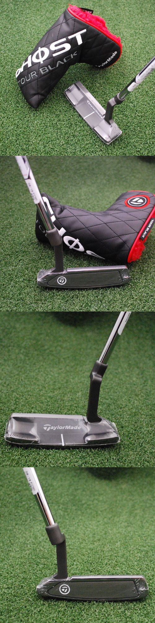 Golf Clubs 115280: Taylormade Golf Left Hand Ghost Tour Black Daytona Putter 35 Superstroke - New -> BUY IT NOW ONLY: $99.95 on eBay!