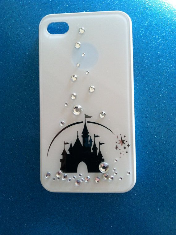 iPhone 4 and iPhone 4S Disney Castle Swarovski crystals case. If only it were the 5S case!
