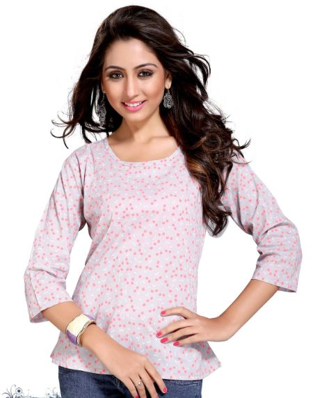 New beautiful top for women with very beautiful shades of colors.
