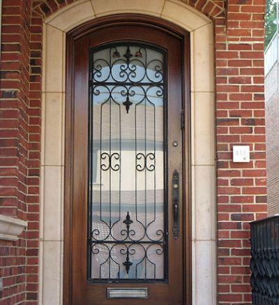 Wrought Iron Exterior Doors Westchester