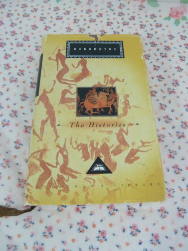Vintage HERODOTUS HISTORIES Hardcover Smarty Pants Greek Book