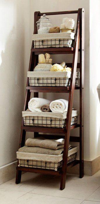Хранение в маленькой ванной: интересные идеи и наглядные примеры