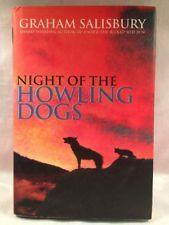 1st Ed. HC Night of the Howling Dogs Graham Salisbury Hawaii Earthquake Tsunami