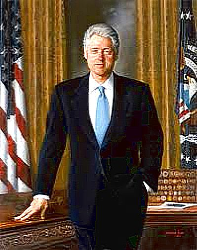 "42nd U.S. PRESIDENT  William Jefferson Blythe III ""BILL"" CLINTON - 2 TERMS 1993-2991"