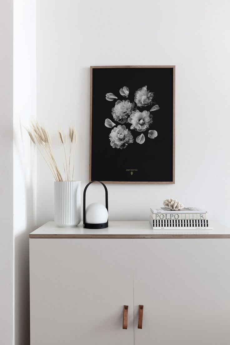 'Paeonia Officinalis' print paired with beige