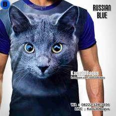 Kaos KUCING, Russian Blue Cat, Kaos CAT LOVER, Kaos3D, Kaos GAMBAR KUCING, Kaos KUCING BIRU, Kaos KUCING LUCU, Kitten, Kaos Animal Lover, Kaos ANIMAL, https://instagram.com/kaos3dbagus, WA : 08222 128 3456, LINE : Kaos3DBagus