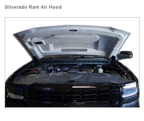 2016 Chevy Silverado 1500 RAM Air Hood w Heat Extractor Vent RK Sport 29017000 | eBay