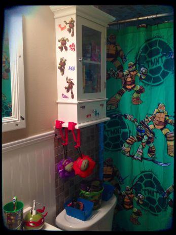 Ninja Turtle bathroom                                                                                                                                                                                 More