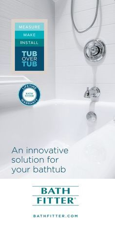 Weu0027re The Perfect Solution To Remodeling Your Bathtub! Bath Fitter® Acrylic  Bathtub