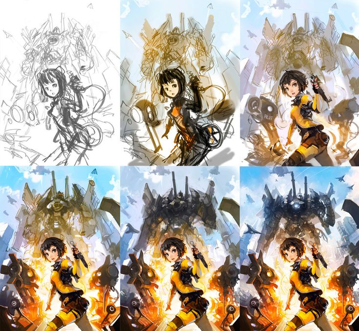 Step by Step - Taicrom by alchemaniac.deviantart.com on @deviantART