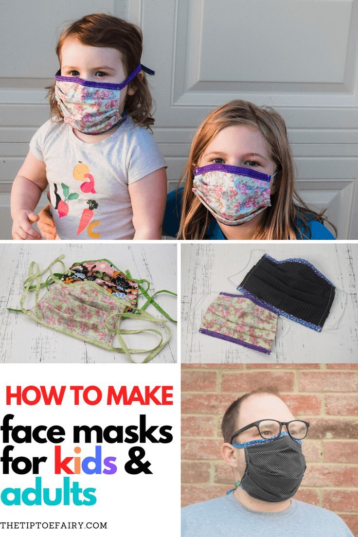 How To Make A Protective Face Mask That Is Water Repellant