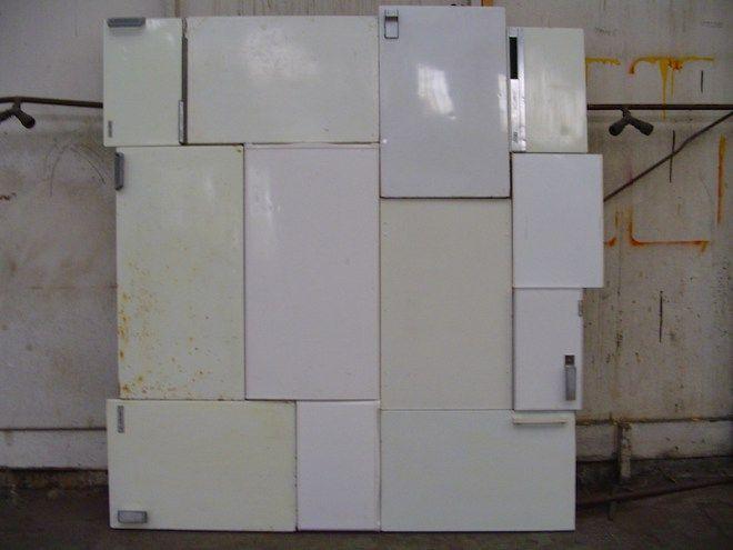 koelkast, deur, koelkastdeur, koelkastdeuren, schilderij, robert, pennekamp, bn…
