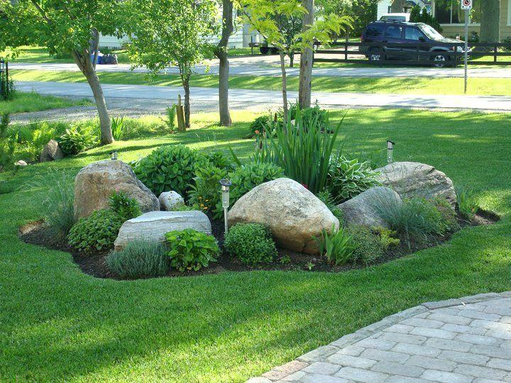 Cost Of Landscape Boulders Large Landscape Rocks Front Rock Garden