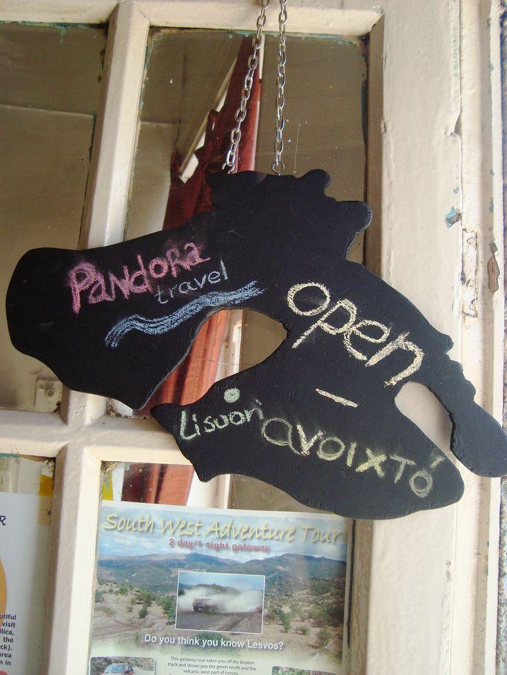 made for my friend Sigrid van der Zee new travel agency Pandora Travel
