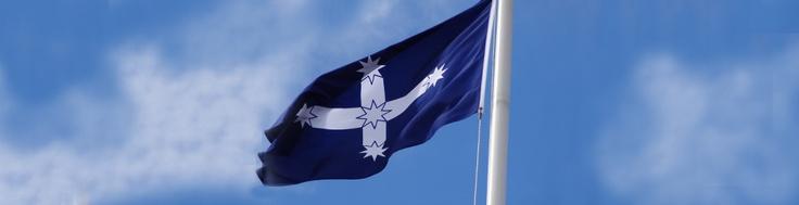 Eureka Flag Flying