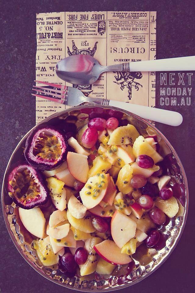 Yummy healthy low GI fruits salad. Follow me at www.nextmonday.com.au