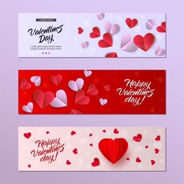 Vector Happy Valentines Day Card Template Set Objects Illustrations Vector Happ Valentine Card Template Valentine Day Cards Valentines Day Card Templates
