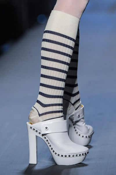 Jean Paul Gaultier Couture Fall 2015 #Shoes