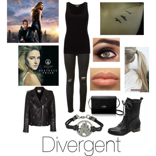 Divergent: The Beatrice 'Tris' Prior look