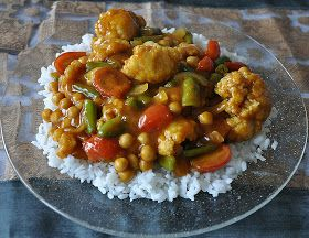 Aunt B on a Budget: Vegetable Curry