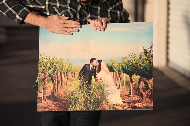 Photo Printing on Wood and Photos Printed on Wood Canvas