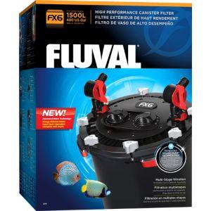 Filtro externo de alta performance para aquários até 1500L.O Filtro Fluval FX6 ofereceuma performance de topo num sistema compacto, processando 2130 litros de água por hora através de um sistema de materiais filtrantes organizados de forma optimizada para produzir os melhores resultados em termos de limpeza da água.