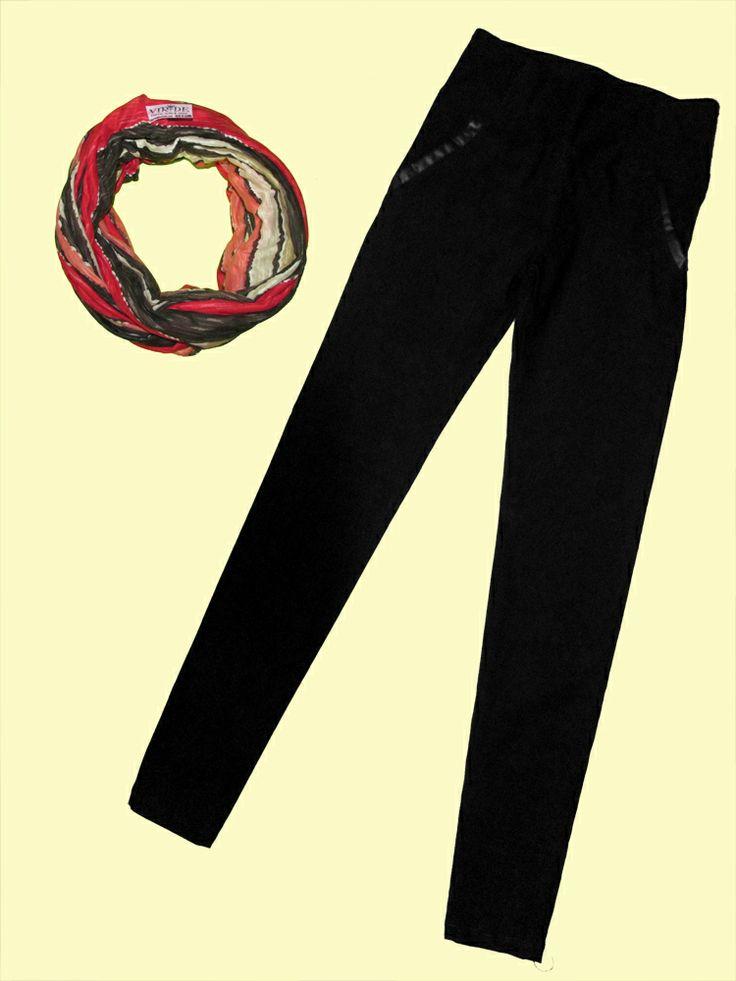 Pantalón bolsillo cuero, colores negro y café tallas S, M, L