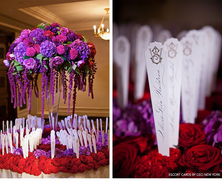 Our Muse - Paris Luxury Wedding - Be inspired by Lucas and Thierry's luxurious Paris wedding set in shades of elegant purple and gold - ceci...