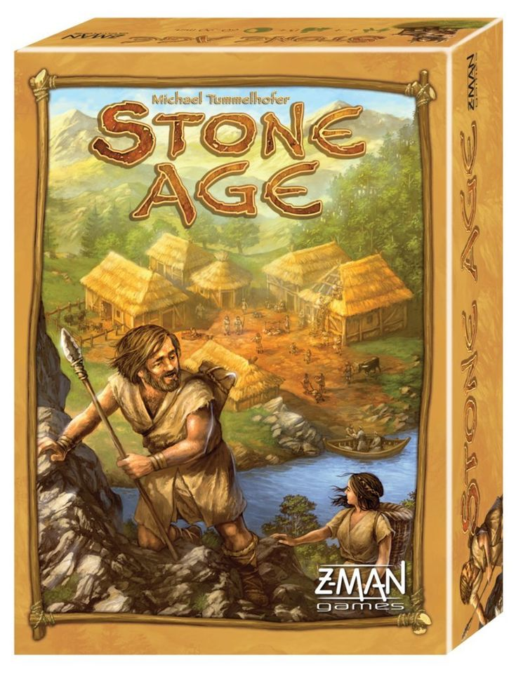 In Stone Age, players are sent back to that arduous period of history. With tools, quite archaic at first, you will be able to collect wood, stone and gold. These resources will allow you to attain higher levels of knowledge and build sturdier roofs over your head. Though luck plays an important part in the game, only those who master their fate will be able to grasp victory. Finally, one mustn't forget to feed their tribe as that would represent a major setback for them. Relive history!