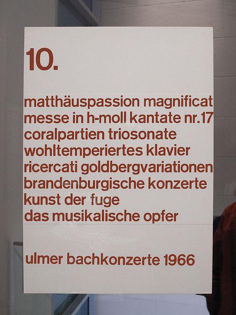 Ulmer Bachkonzerte 1966