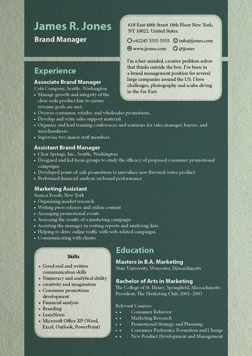23 best Free CV\/Resume Templates images on Pinterest Cv resume - indesign resume templates
