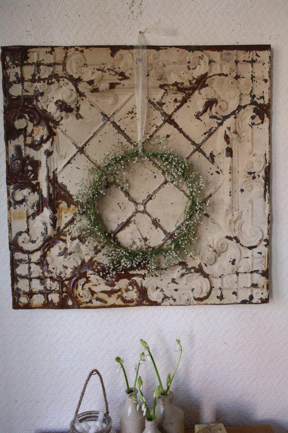 Unique Vintage Tin Ceiling Tiles Decorating Ideas Pictures Dream Home